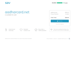 aadharcard.net screenshot
