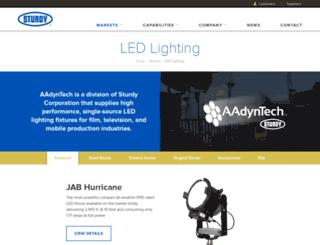 aadyntech.com screenshot