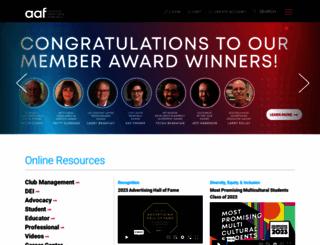 aaf.org screenshot