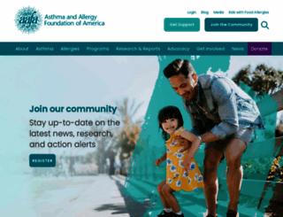 aafa.org screenshot