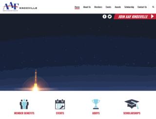aafknoxville.com screenshot