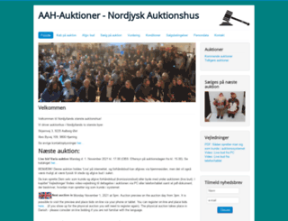 aah-auktioner.dk screenshot