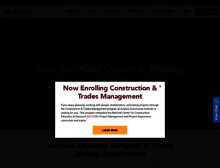 aai.edu screenshot