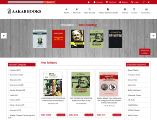 aakarbooks.com screenshot
