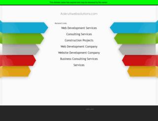 aakrutiwebsolutions.com screenshot