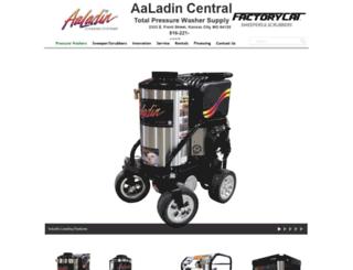 aaladincentral.com screenshot