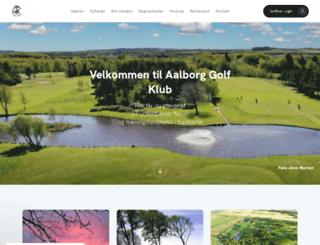 aalborggolfklub.dk screenshot