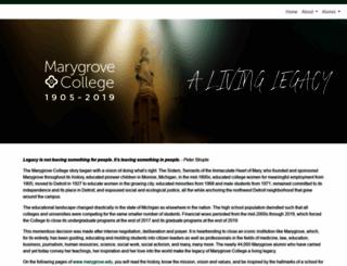 aalcs.marygrove.edu screenshot