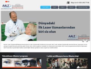 aalz.bezmialem.edu.tr screenshot