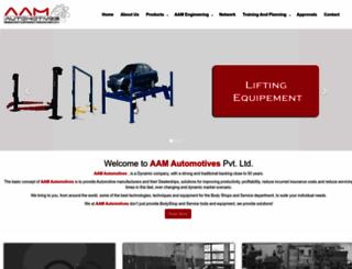 aamautomotives.com screenshot