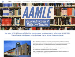 aamle.org screenshot