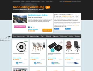 aanbiedingvandedag.nl screenshot