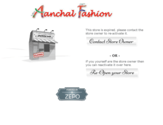 aanchalfashion.com screenshot