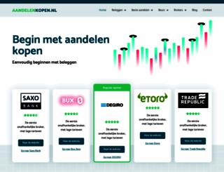 aandelenkopen.nl screenshot