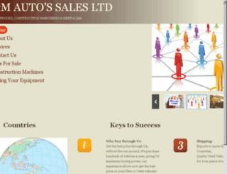 aandmautossales.com screenshot