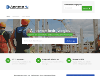 aannemer-nu.nl screenshot