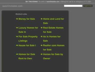 aaonlinesales.com screenshot
