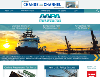 aapa-ports.org screenshot