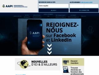 aapi.qc.ca screenshot