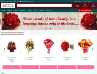 aapkaflorist.com screenshot