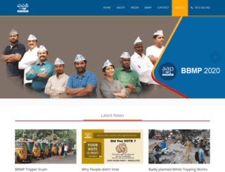 aapkarnataka.org screenshot