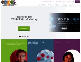 aapos.org screenshot