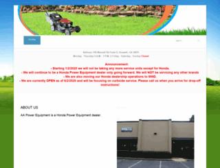 aapowersales.com screenshot
