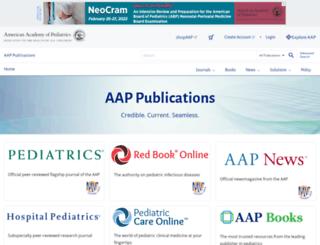 aapredbook.aappublications.org screenshot