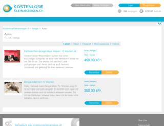 aarau.kostenlosekleinanzeigen.ch screenshot