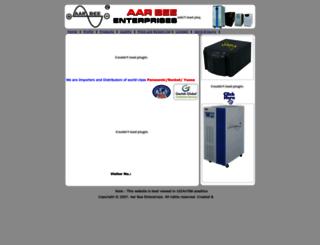 aarbeeenterprises.com screenshot