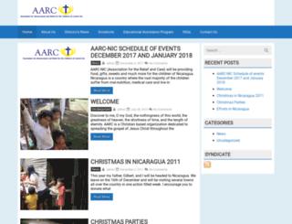 aarc-nic.com screenshot