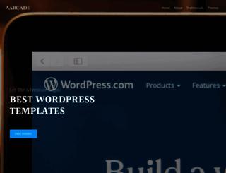 aarcadethemes.com screenshot