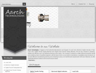 aarchtechnologies.in screenshot