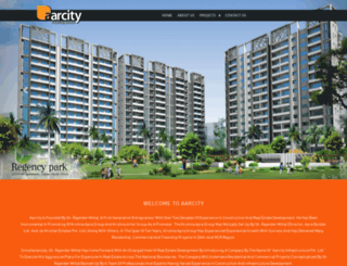 aarcity.com screenshot