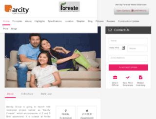aarcityforeste.org.in screenshot