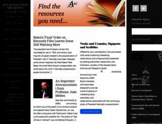 aarclibrary.org screenshot