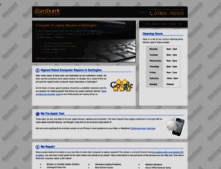 aardvarkpcrepairs.co.uk screenshot