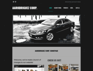 aarodriguezcorp.com screenshot