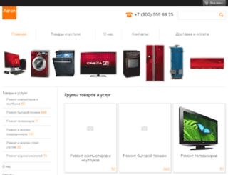 aaron-rbt.ru screenshot