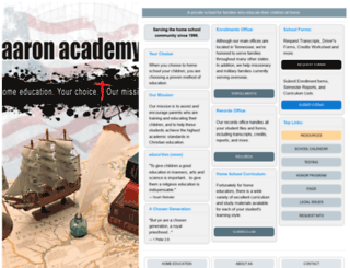 aaronacademy.com screenshot