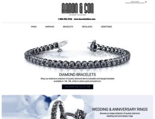 aaronandson.com screenshot