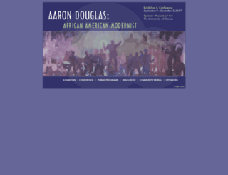 aarondouglas.ku.edu screenshot