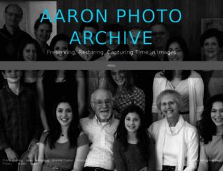 aaronphotoarchive.com screenshot