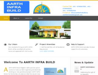 aarthinfrabuild.in screenshot