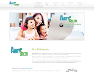 aarygreen.com screenshot