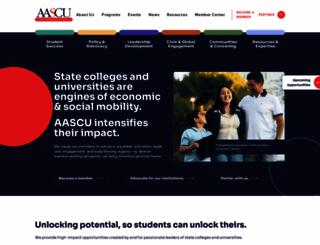 aascu.org screenshot