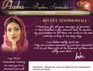 aasha-online.com screenshot