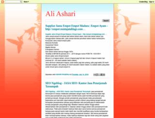 aashari.blogspot.com screenshot