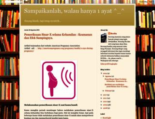 aasiyahhaniifah.blogspot.com screenshot