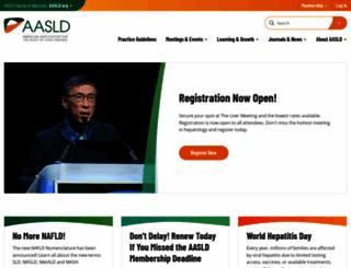 aasld.org screenshot